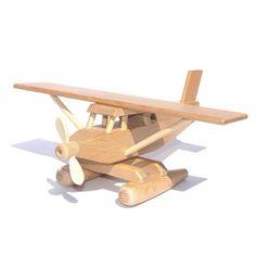 Wooden Sea Plane – Louie