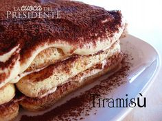 Tiramisù Dessert Recipes, Desserts, Fett, Biscotti, Carne, Sweets, Baking, Breakfast, Ethnic Recipes