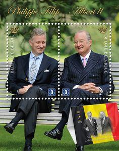 Postzegel troonswisseling België 2013