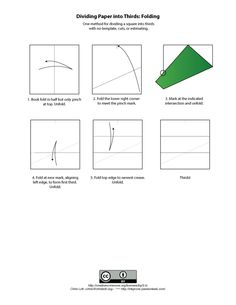 how to divide a square in thirds - Google Search