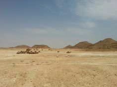 On the road to the lost city of Ubar, Oman