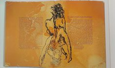 Francesco Clemente  The Departure of the Argonaut, 1986  Illustrated book by Alberto Savinio