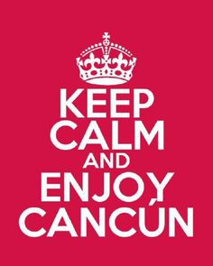 We love #Cancun! Let's party!