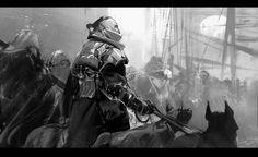 Dark ages II, Jama Jurabaev on ArtStation at https://www.artstation.com/artwork/RJWrv