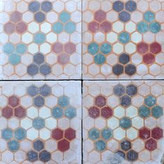 Vintage tile sourced by Maitland & Poate (antique tile, vintage tile, retro tile, cement tile, encaustic tile, spanish tile, old tile, reclaimed tile)