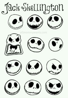 I LOVE Jack Skellington! If you are reading this page you must love him too! Here's a super easy tutorial on how to make Jack Skellington/Nightmare Before Christmas ornaments, perfect for both Christmas and Halloween! You will need: White round ornam Holidays Halloween, Halloween Crafts, Holiday Crafts, Happy Halloween, Halloween Decorations, Christmas Crafts, Xmas, Halloween Prop, Halloween Witches