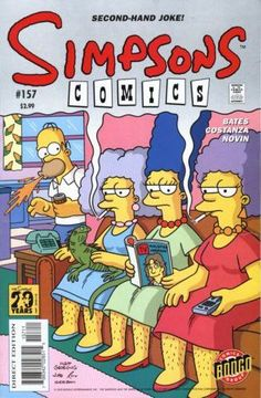 simpsons comic 157 | Simpsons Comics #157 - Marges Extreme Make-Under on Comic Collector ...