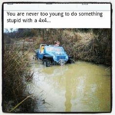 You're never too young
