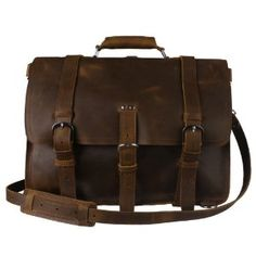 Awesome leather messenger bag.
