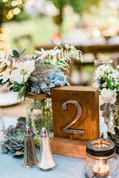 BLUE & WOOD ideas para bodas, On top, weddings - Macarena Gea