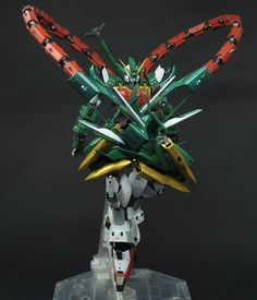 P-Bandai Exclusive: MG 1/100 Gundam Altron - Customized Build Modeled by 模民小卒