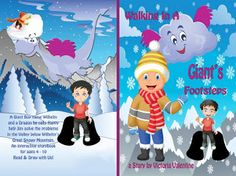 Variety Is The Spice Of Books & Reviews: Walking In A Giant's Footsteps Children's Fantasy ...