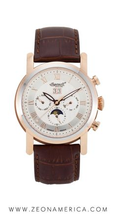 Classy and fashionable. Holiday shopping fun at Zeon America! Men's Watches, Watches For Men, Ingersoll Watches, Classy, America, Holiday, Fun, Accessories, Shopping