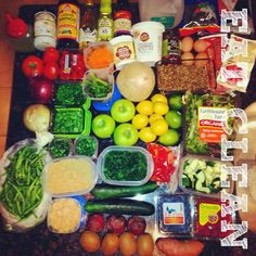 Eating clean, meal prep and the Ultimate Reset