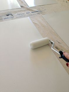 DIY magnetic white board