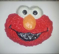 Elmo cake for boys 2nd birthday