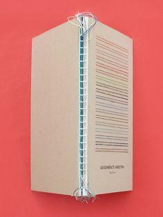 SELECTED WORKS – Portfolio book on Editorial Design Served