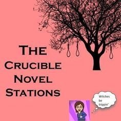 This is a great way to culminate a study of your drama unit. I have created a series of 8 learning stations for the drama The Crucible. Each one is creative and thought provoking. Each learning station offers a quick intense self guided lesson. Add the mo