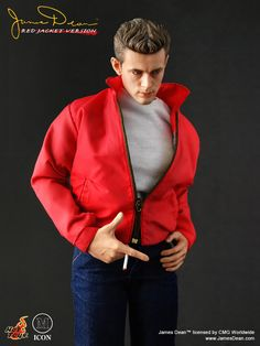 James Dean figure by Hot Toys