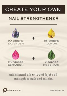 Young Living Essential Oils:   Cuticles Nails