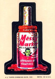Messy Marker 9th Series (1974)