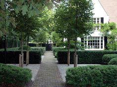 Love the clean crisp lines of this wonderful Dutch garden avantgarden - antwerp