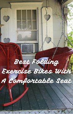 Top 3 best folding exercise bikes with a comfortable seat - your sit bones will thank you Folding Exercise Bike, Exercise Bike Reviews, Shape Fitness, Spin Bikes, Bike Seat, Personal Goals, Porch Swing, Workout Programs, How Are You Feeling