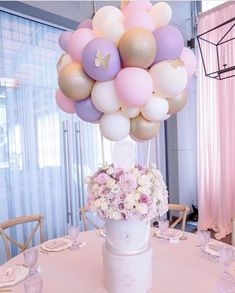 65 Ideas For Party Neon Decoration Baby Shower Baby Girl Shower Themes, Girl Baby Shower Decorations, Baby Shower Centerpieces, Baby Shower Parties, Birthday Party Decorations, Balloon Centerpieces, Butterfly Party Decorations, Butterfly Centerpieces, Masquerade Centerpieces