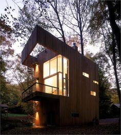 Shipping Container Tree House, Best Design Treehouse