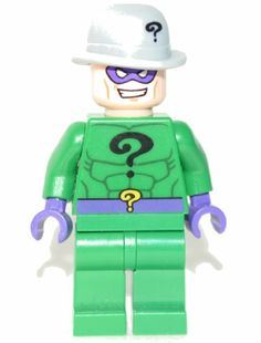 ???Riddle me this:- Which Batman villian is green, purple and has a date with riddles???