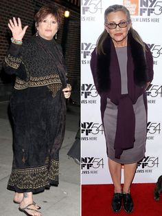 Carrie Fisher, who has spoken candidly about struggling with her weight in the past, was slimmer, eating healthier and exercising regularly in the years prior to her massive heart attack on Friday.  The Star Wars actress, 60, was aboard an 11-hour flight from London to Los Angeles on Friday when she