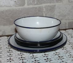 Hey, I found this really awesome Etsy listing at https://www.etsy.com/listing/487541589/set-of-7-enamelware-dishes-for-farmouse