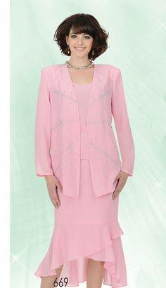 AAS669,Aussie Austine Ladies Georgette Church Suits Spring And Summer 2015