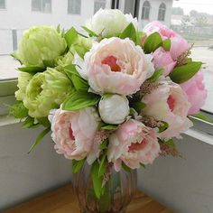 High Quality Peony,bridal Bouquet,wedding Party Table Centerpiece,christmas Home Decoration Silk Artificial Flower Arrangement 5 Pcs/set xueyan,http://www.amazon.com/dp/B00EIHYE0I/ref=cm_sw_r_pi_dp_Q.Yvtb1MC8X2JR0R