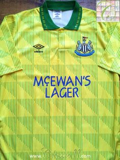 Relive Newcastle United s 1991 1992 season with this vintage Umbro away football  shirt. Old 768f746ec