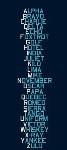 love this ..everyone should know the alphabet