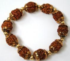 "Yoga Inspired Jewelry Rudraksha ""Spiritual Tears"" Bracelet | www.downdogboutique.com"