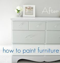 BEST OF THE BEST: how to paint furniture (lots of important advice)