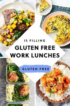 25 fill, gluten-free lunch to work - 25 filling, gluten-free lunch . - 25 filling, gluten-free lunches to work – 25 filling, gluten-free lunches to work – - Gluten Free Recipes For Lunch, Gluten Free Meal Plan, Free Meal Plans, Gluten Free Breakfasts, Healthy Recipes, Easy Gluten Free Lunches For Work, Easy Gluten Free Meals, Dinner Recipes, Dairy Free Lunches
