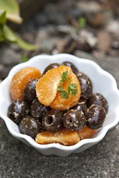 Clean Eating Recipes | Clean Eating Mandarine Olive Salad