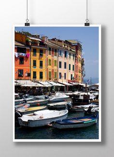 Plakat / Poster – Portofino1