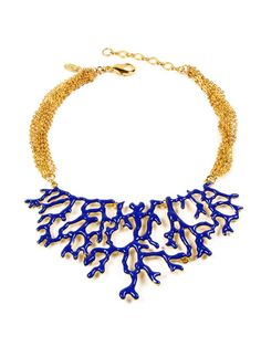 Just bought this! Coral Reef Bib Necklace by Amrita Singh