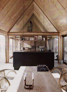 Amber Interior Design: Office elle decor italia Minimalist Interior Design Ideas for Small Bedroom mint chair dining room. Lofts, Interior Architecture, Interior And Exterior, Living Haus, Elle Decor, Hygge, Kitchen Interior, Cubes, Interior Inspiration