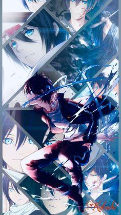 Noragami Anime, Anime Chibi, Anime Manga, Kawaii Anime, Anime Collage, Fan Art Anime, Anime Artwork, Pink Wallpaper Anime, Super Anime