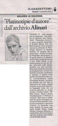 Alinari Fine Art. Exhibition in Venice.