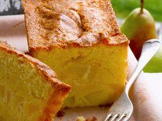 Cake moelleux aux poires, facile et pas cher