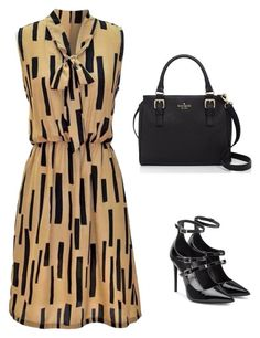 """Untitled #1463"" by carlene-lindsay ❤ liked on Polyvore featuring Tamara Mellon and Kate Spade"