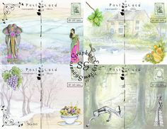 Hey, I found this really awesome Etsy listing at http://www.etsy.com/listing/155432723/distant-lands-postcards-sg161-425-x-55