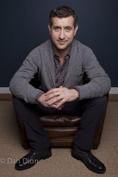 Portrait of comic and Executive Producer of The Daily Show Rory Albanese by photographer Dan Dion.  http://roryalbanese.com/