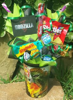Hey, I found this really awesome Etsy listing at https://www.etsy.com/listing/188137565/godzilla-kids-candy-party-favors